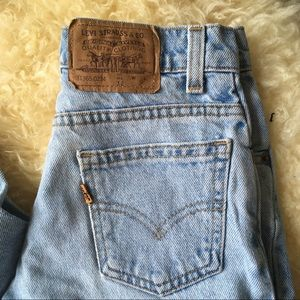 1970s Levi's Orange Tab Levi's Light Wash Levi's